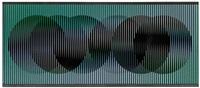 chromointerference, série charlie 2 by carlos cruz-diez