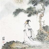 听松 by bai bohua