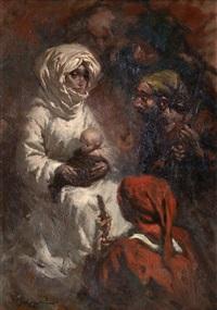adoración de los pastores by manuel monedero