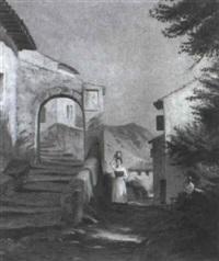 pueblo italiano by f. brinicardi