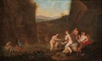 diana und ihre nymphen beim bade by daniel vertangen