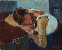 hvilende kvinde by albert gammelgaard