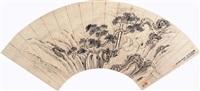 松鹤延年 (figure) by jiang zhang