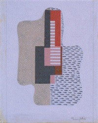 abstract composition by willard grayson smythe