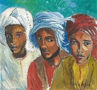 three arabs by freida lock