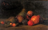 still life with fruit by antony morlon