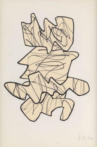 le flux même motif by jean dubuffet