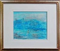 untitled (harbour scene, tasmania) by lloyd frederic rees