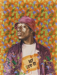 malcolm study by kehinde wiley