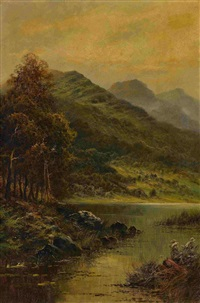 landschaft in wales by benjamin williams leader