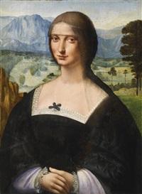 porträt einer dame by francesco melzi
