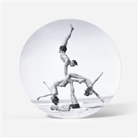 untitled (plate) by jeff koons
