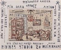 ennes studio zu weihnacht by albert wigand and elisabeth ahnert