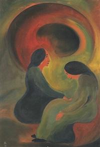 zwei frauen by christian arnold