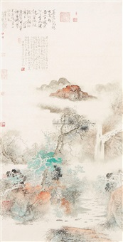 山水 by lian shengqun