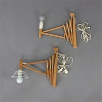 wall lamps (model 335/34) (set of 2) by le klint