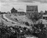 the farmhouse by charles curtis allen