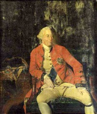 portrait of king george iii (by hunnemann) by johann joseph zoffany
