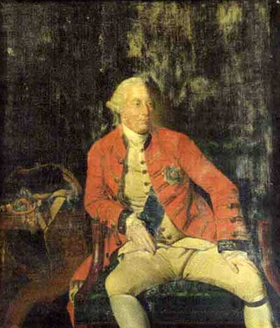 portrait of king george iii by hunnemann by johann joseph zoffany