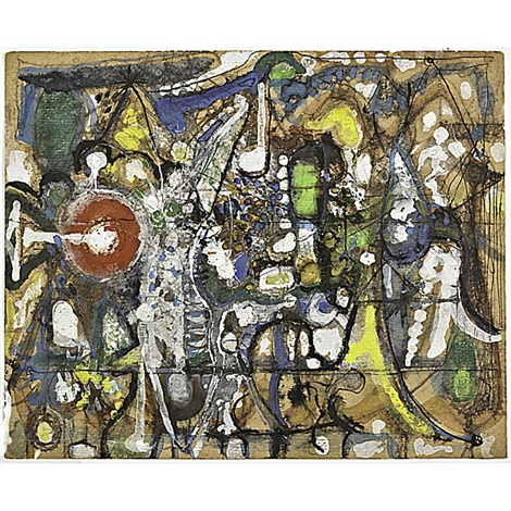 untitled by richard pousette dart