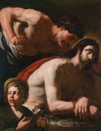 die verspottung christi by orazio ferraro