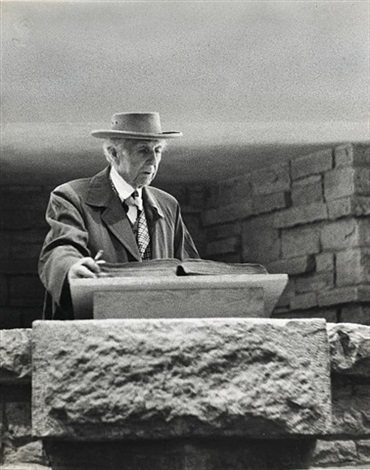 frank lloyd wright by ezra stoller