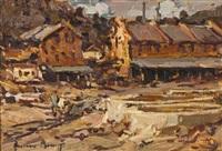 the mine yard by adriaan hendrik boshoff
