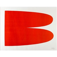 red-orange by ellsworth kelly