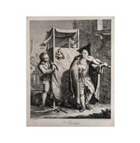 i burattini (after francesco maggiotto) by giovanni volpato
