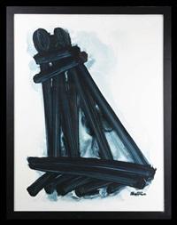 mine shaft by stanislaus ivan rapotec