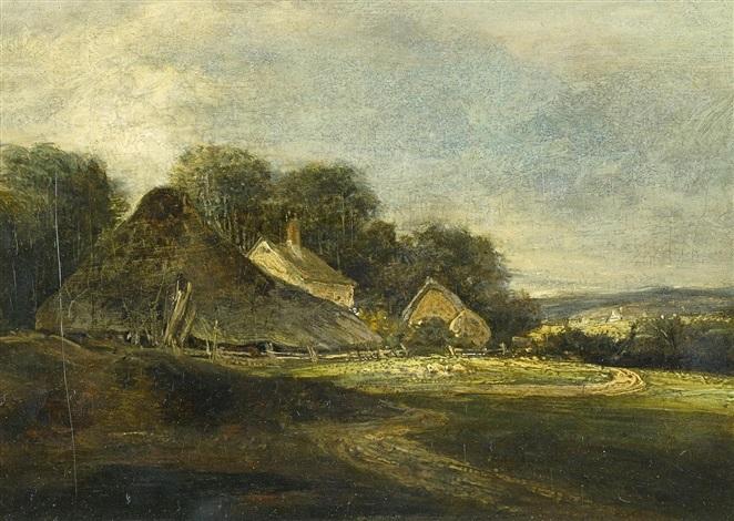 Englisches Cottage englisches cottage by william collins on artnet