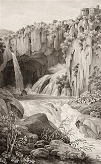 die grotte des neptun zu tivoli by friedrich rehberg
