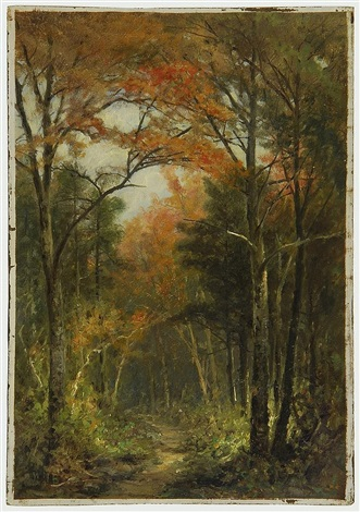 forest road by william newton batholomew