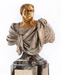 büste des römischen kaisers aulus vitellius by nicholas (il franciosino) cordier