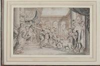 scena mitologica by domenico piola