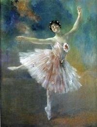the ballerina fouzia by henri (hirne) le riche