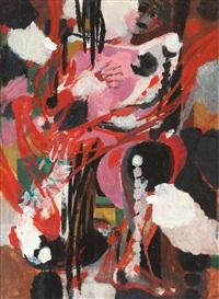 sitzender akt (rosa) by karl kluth