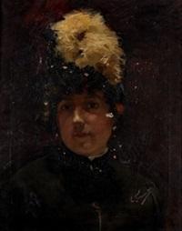 retrato de dama by enrique simonet lombardo