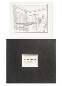 interiors, the berlin studies of jacob and wilhelm grimm (portfolio of 10) by rodney graham