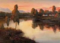 故乡泥水河的回忆 by qi menghui