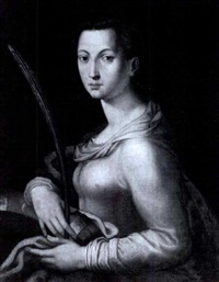 st. catherine of alexandria by agnolo bronzino