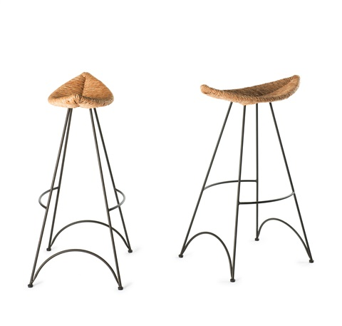 Superb Two Banana Bar Stools By Tom Dixon On Artnet Gmtry Best Dining Table And Chair Ideas Images Gmtryco