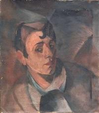 knabenporträt by hans spiegel
