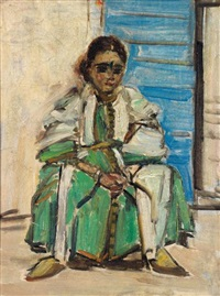 marocaine assise by jules lellouche