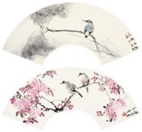 莲池雅趣 (2 works) by liu wensheng