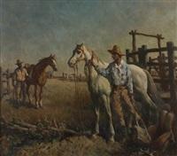 the stockmen by sir daryl ernest lindsay