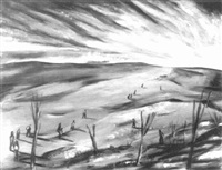 war: barren land by karl metzler