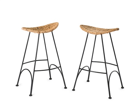 Marvelous Two Banana Bar Stools By Tom Dixon On Artnet Gmtry Best Dining Table And Chair Ideas Images Gmtryco