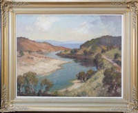 road to jingellic, upper reaches of the murray by james ranalph jackson