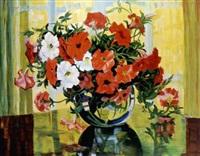 blumenstrauss in einer vase by anna gasteiger